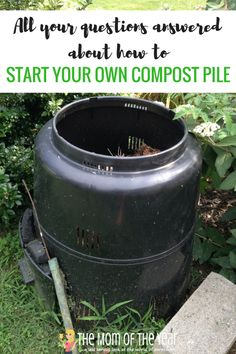 been interested in composting but not sure where to start? We've got the easy how-to here! All your questions answered about how to start a compost pile. Your garden will thank you with an abundance of healthy vegetables! How To Start Composting, Composting 101, Fall Vegetables, Healthy Vegetables, Organic Gardening, Gardening Tips, Urban Gardening, Urban Farming, Bokashi