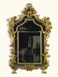 An Italian carved giltwood mirror, Genoese, circa 1730   Lot   Sotheby's