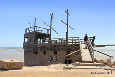 Raising Adelaide - includes a nice blog about St Kilda Playground and one young familys trip there. Fun and games on the pirate ship