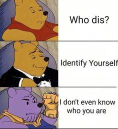 Funny memes - Winnie the Poonos Memes Humor, Jokes, Funny Humor, Hilarious Memes, Funny Stuff, Avengers Memes, Marvel Memes, Marvel Funny, Marvel Avengers