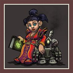 Gnome Mage by OrcOYoyo on DeviantArt