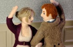 Cozy Classics - classic literature illustrated with needle felting!