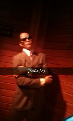 Jamie Foxx #HollywoodWaxMuseum
