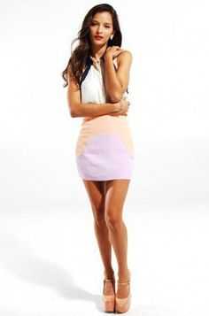 #shopakira.com            #Skirt                    #Finders #Keepers #Talk #This #Over #Skirt #Lilac/Apricot                     Finders Keepers Talk This Over Skirt in Lilac/Apricot                                                   http://www.seapai.com/product.aspx?PID=876733