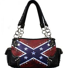 Concealed Carry Rebel Flag Shoulder Bag – Hay River Tack and Supplies