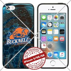 New iPhone SE Case , 5/5s TPU Case Bucknell Bison Logo Ce…