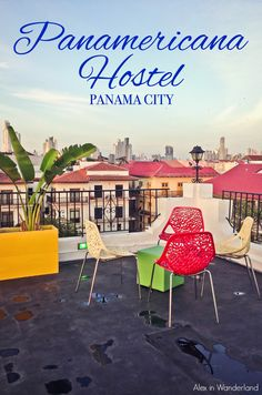 The Panamericana is an oceanside boutique hostel in the charming neighborhood of Casco Viejo in Panama City.  Incredible value and gorgeous design! | Alex in Wanderland