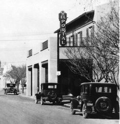 El Portal Theater, ca. 1930s. Fremont Street, Las Vegas.