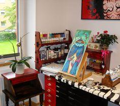Studio Rubi Juarez Pinball, Studio, Antiques, Furniture, Home Decor, Art, Antiquities, Art Background, Antique