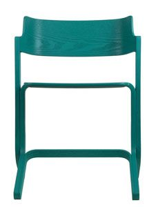 smukke stackable chair - turquoise