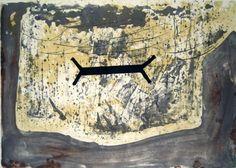 Artist: Antoni Tàpies,  title: Suite 63 x 90,  technology: Color lithograph