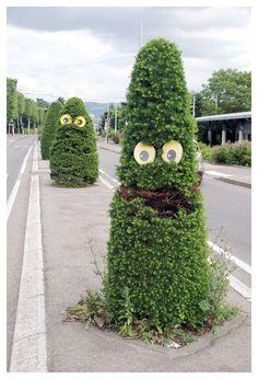 Paris Tonkar magazine // Graffiti and Street art: S-Tree-T Art Eye Bombing :: Ladamenrouge
