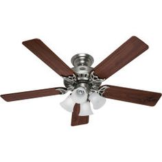 @Overstock - The Hunter Ceiling Fans, is a studio series fan with the three fan speed pull chain and on/off light pull chain in the antique pewter motor finish.http://www.overstock.com/Home-Garden/Hunter-Fan-Studio-20184-Ceiling-Fan/4960334/product.html?CID=214117 $134.99
