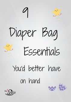 What's in your diaper bag? #baby #essentials #packing #infant