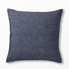 Prydnadskudde Calypso, 50x50 cm, blå