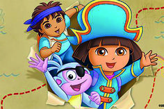 Dora Live! (3+) - za. 6 juni 2015 in Schouwburg Amphion