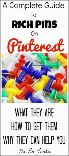 How To Use Pinterest Rich Pins