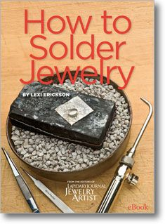 In case you missed it, get Lexi's 10-part series on soldering from Lapidary Journal Jewelry Artist magazine, all in one convenient eBook... Plus 30% of proceeds of everything in the JMD shop go to National Breast Cancer Foundation through Oct. 5, 2012.