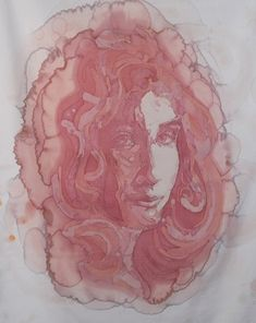 Amelia Fais Harnas creates portaits by spilling wine on fabric. OH MY!! These are beautiful. Check it out.