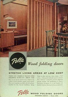 Image Result For Pella Wood Folding Accordion Door Vintage. Interior ...