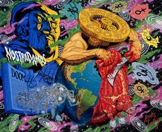 Robert Williams is an American painter, cartoonist, and the founder of Jutapoz Magazine. A turbulent upbringing steered Williams to mischief at a young age, Character Illustration, Illustration Art, Illustrations, Robert Williams, Lowbrow Art, Pop Surrealism, Psychedelic Art, Comic Art, Collage