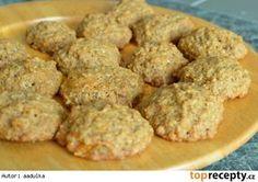 Mrkvové cookies s ovesnými vločkami My Recipes, Cake Recipes, Healthy Recipes, Healthy Food, Good Food, Food And Drink, Gluten Free, Sweets, Cookies
