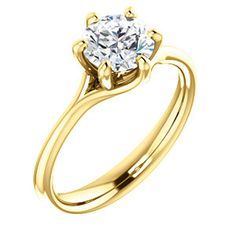 6-Prong Solitaire Engagement Ring ELIZABETH | 122118
