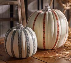 Decoupage - Washi Tape Halloween Pumpkin