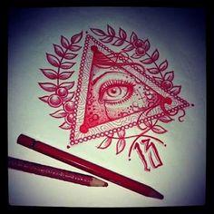 Resultado de imagem para tatuagem olho que tudo ve
