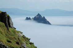 Skellig Michael, County Kerry, Ireland - No one goes here by accident. Getting to Skellig Michael requires both persistence and good luck. You'll need the services of a fishing trawler and the good fortune of setting off on a clear day. Once on the island, climbing those stone steps brings you to the main attraction: a cluster of beehive-shaped stone huts dating back to the sixth century. That's right—early Christian monks actually lived on this windswept outpost in the middle of nowhere.