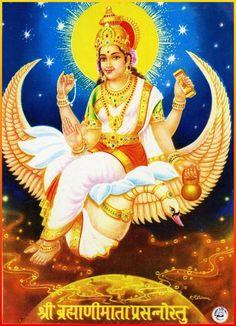 Hindu Deities, Hinduism, Gayatri Devi, Divine Mother, Durga Goddess, God Pictures, Gods And Goddesses, Princess Zelda, Superhero