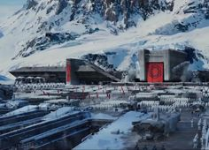 First Order Station on Starkiller Base