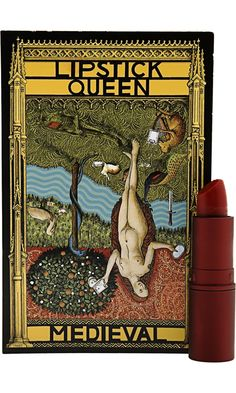 """Lipstick Queen Medieval Lipstick. A very moisturizing, sheer red.""  Multiple ppl have pinned. Is it that good?"