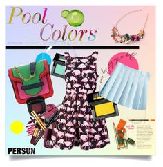 """""""Pool Colors"""" by yoa316 ❤ liked on Polyvore featuring Make and LSA International"""