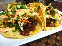 justthefood.com...the blog: Taco Tuesdays: Fusion Tacos and a Fusion Food in the Vegan Kitchen Giveaway