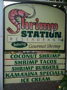 Shrimp Station - Waimea, Kauai, HI Coconut shrimp is THE BEST. $12.95 for a plate and so, so good!