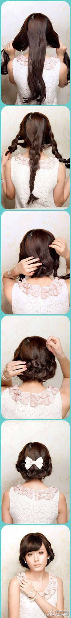 simple updo #DIY