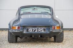 Slate grey 911s Steve McQueen Rennsport Evolution | Rennsport