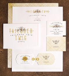 Tailored Twig – Printed Brand Design by Funnel