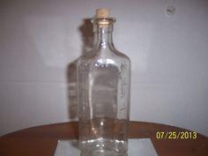 Vintage Glass Medicine Bottle Iodine Bottle by NAESBARGINBASEMENT, $8.00
