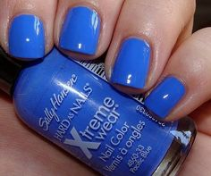 Sally Hansen's Pacific Blue polish. Been looking for this color everywhere! I love it! Can't wait to wear it.