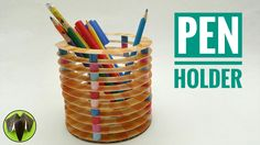Pen | Pencil Holder - DIY Tutorial by Paper Folds