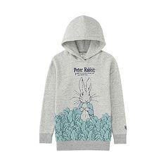 WOMEN Peter Rabbit Sweat Graphic Pullover Hoodie-UNIQLOUKOnlinefashionstore