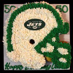 Jet's Helmet Cake.