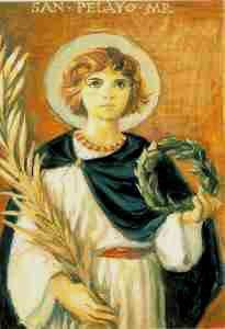 El Santo del Dia: 26 DE JUNIO SAN PELAYO MÁRTIR