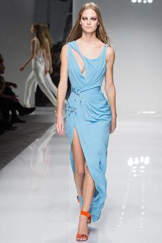 Versace Couture Spring 2016 Model: Ine Neefs