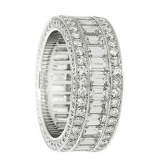 Eternity band... would love this as a right hand ring someday..... #pushpresent
