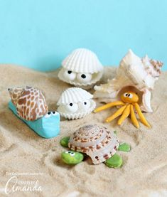 Sea Shell Creatures | Fun Family Crafts