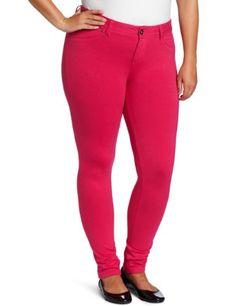Amazon.com: Southpole Juniors Plus-Size Color Super Stretch Knit Pant: Clothing