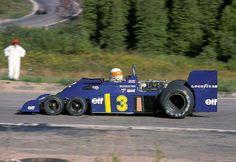 Sometimes 6 isn't better than Canadian GP 1976 Jody Scheckter - Tyrrell Sports Car Racing, F1 Racing, Racing Team, Road Racing, Race Cars, Jody Scheckter, Canadian Grand Prix, Formula 1 Car, Race Engines